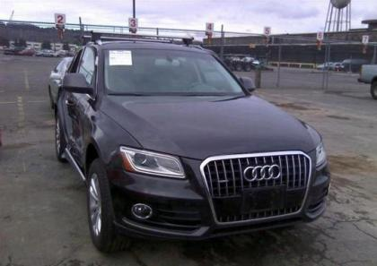 2014 AUDI Q5 PREMIUM PLUS - GRAY ON GRAY
