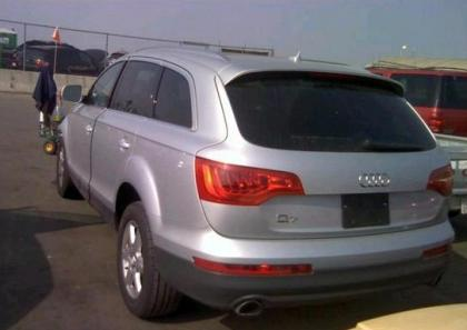 2013 AUDI Q7 PREMIUM PLUS - SILVER ON BLACK 3
