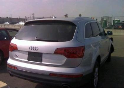 2013 AUDI Q7 PREMIUM PLUS - SILVER ON BLACK 4