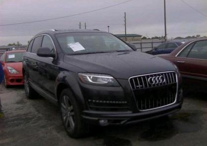 2013 AUDI Q7 PREMIUM PLUS - BLACK ON BLACK