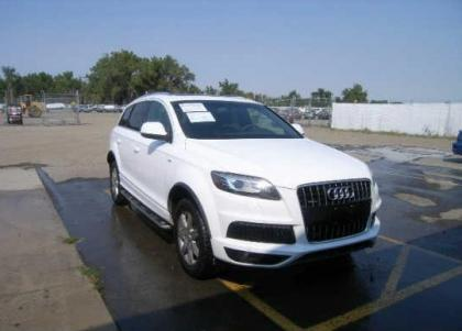2011 AUDI Q7 PRESTIGE - WHITE ON BLACK