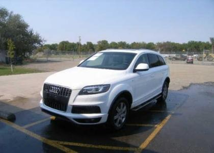 2011 AUDI Q7 PRESTIGE - WHITE ON BLACK 2