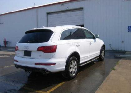 2011 AUDI Q7 PRESTIGE - WHITE ON BLACK 4