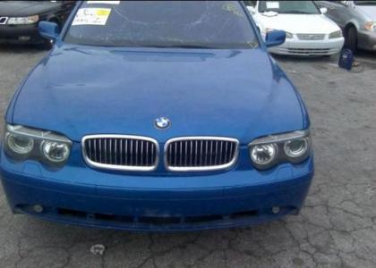 2002 BMW 745 I - BLUE ON BLACK 6