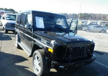 2013 MERCEDES BENZ G550 BASE - BLACK ON BLACK 1