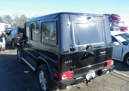 2013 MERCEDES BENZ G550 BASE - BLACK ON BLACK 3