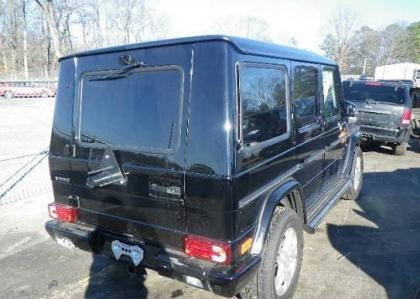 2013 MERCEDES BENZ G550 BASE - BLACK ON BLACK 4