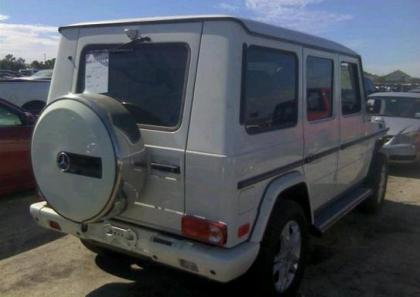 2011 MERCEDES BENZ G550 4MATIC - WHITE ON BROWN 4
