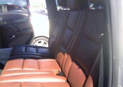 2011 MERCEDES BENZ G550 4MATIC - WHITE ON BROWN 8