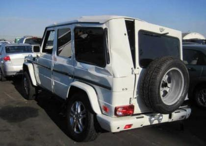 2012 MERCEDES BENZ G550 4MATIC - WHITE ON BLACK 3