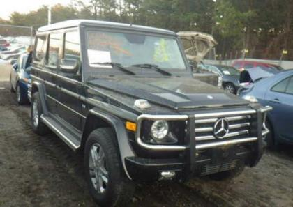 2012 MERCEDES BENZ G550 BASE - BLACK ON BLACK
