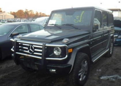 2012 MERCEDES BENZ G550 BASE - BLACK ON BLACK 2
