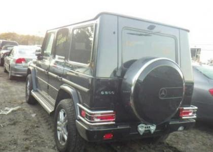 2012 MERCEDES BENZ G550 BASE - BLACK ON BLACK 3