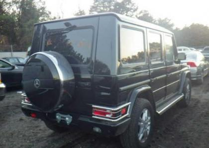 2012 MERCEDES BENZ G550 BASE - BLACK ON BLACK 4