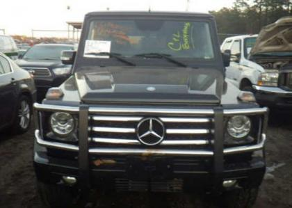 2012 MERCEDES BENZ G550 BASE - BLACK ON BLACK 6