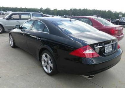 2006 MERCEDES BENZ CLS550 C - BLACK ON BLACK 3