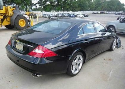 2006 MERCEDES BENZ CLS550 C - BLACK ON BLACK 4