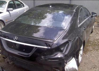 2012 MERCEDES BENZ CLS550 BASE - BLACK ON BLACK 4