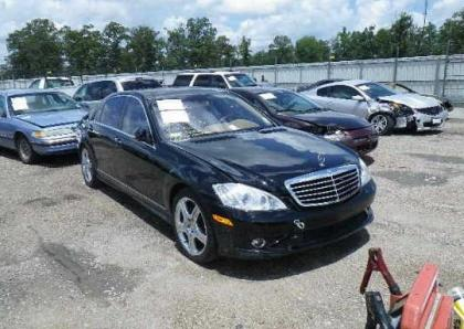 2008 MERCEDES BENZ S550 BASE - BLACK ON BEIGE 1