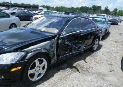2008 MERCEDES BENZ S550 BASE - BLACK ON BEIGE 6