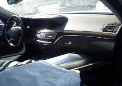2013 MERCEDES BENZ S550 BASE - SILVER ON BLACK 5