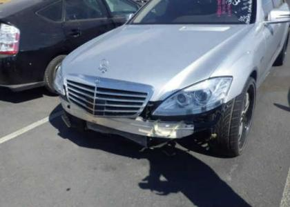 2013 MERCEDES BENZ S550 BASE - SILVER ON BLACK 6