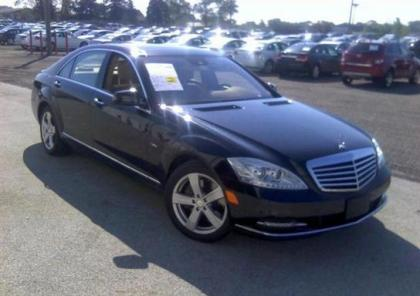 2012 MERCEDES BENZ S550 4MATIC - BLACK ON BEIGE