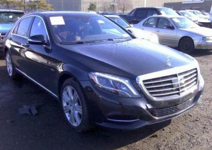 2014 MERCEDES BENZ S550 BASE - BLACK ON BROWN