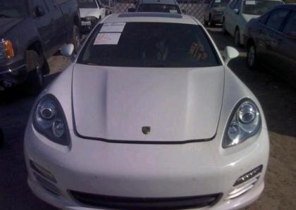2012 PORSCHE PANAMERA V6 - WHITE ON BLACK 6