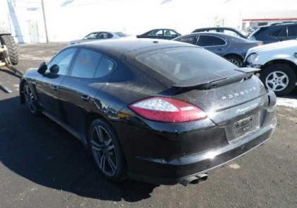 Export Salvage 2012 Porsche Panamera Turbo S Black On Black