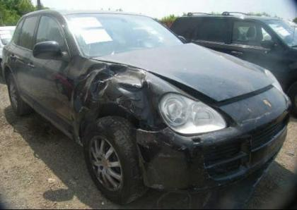2006 PORSCHE CAYENNE V6 - BLACK ON BLACK