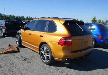 2008 PORSCHE CAYENNE GTS - ORANGE ON BLACK 3
