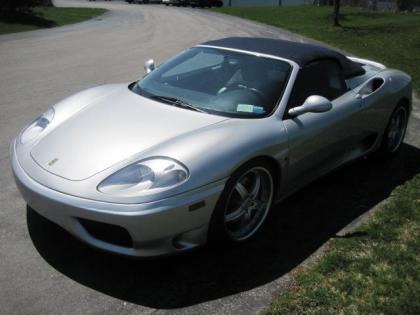2001 FERRARI 360 MODENA - GRAY ON BLACK