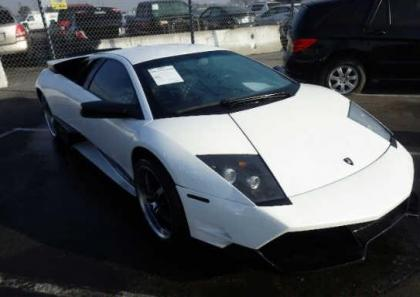 2007 LAMBORGHINI MURCIELAGO AWD - WHITE ON BLACK