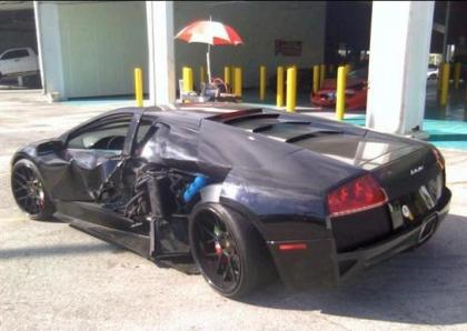 2009 LAMBORGHINI MURCIELAGO AWD - BLACK ON BLACK 3