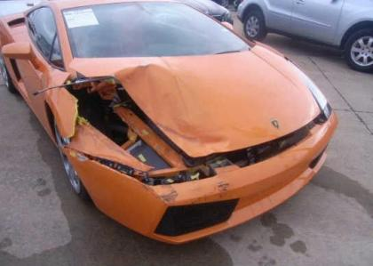 2004 LAMBORGHINI GALLARDO AWD - ORANGE ON ORANGE 6