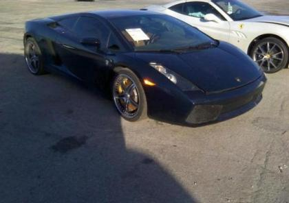 2006 LAMBORGHINI GALLARDO BASE - BLACK ON BROWN 1