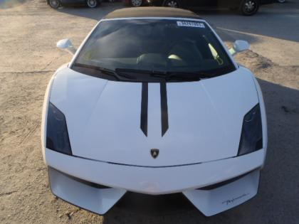 2011 LAMBORGHINI GALLARDO SPYDER - WHITE ON BLACK 5