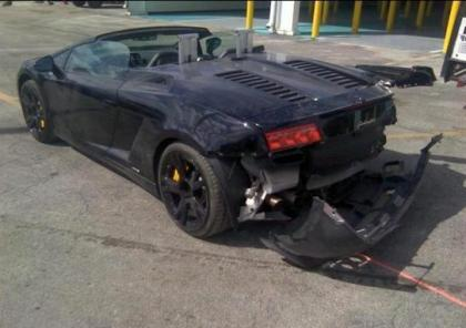 2012 LAMBORGHINI GALLARDO SPYDER - BLACK ON BLACK 3