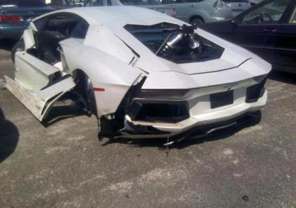 2013 LAMBORGHINI AVENTADOR LP700-4 - WHITE ON BLACK 3