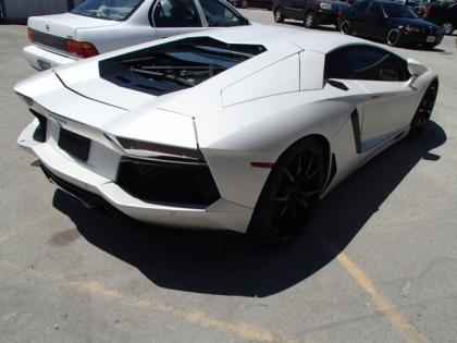 2013 LAMBORGHINI AVENTADOR LP700-4 - WHITE ON BLACK 4