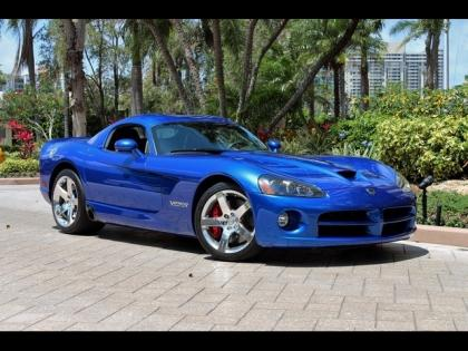 2010 DODGE VIPER SRT-10 - BLUE ON BLACK
