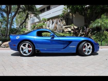 Export Used 2010 DODGE VIPER SRT-10 - BLUE ON BLACK