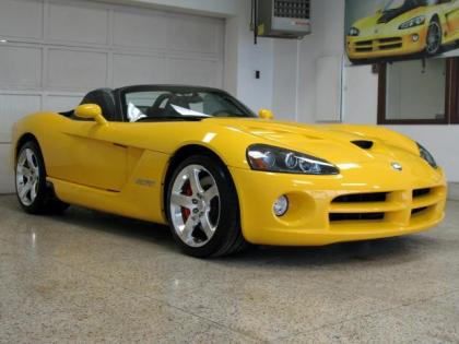 2009 DODGE VIPER SRT-10 - YELLOW ON BLACK