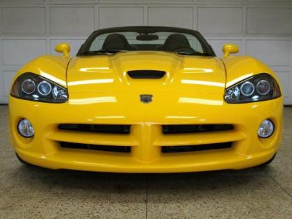 2009 DODGE VIPER SRT-10 - YELLOW ON BLACK 2