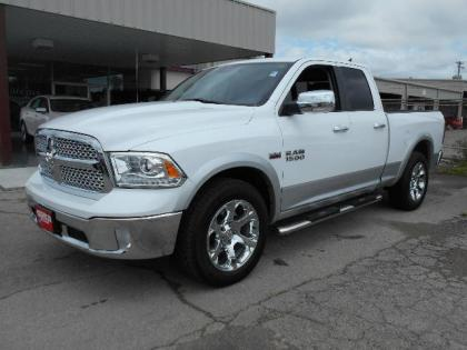 2013 RAM 1500 LARAMIE - WHITE ON BLACK