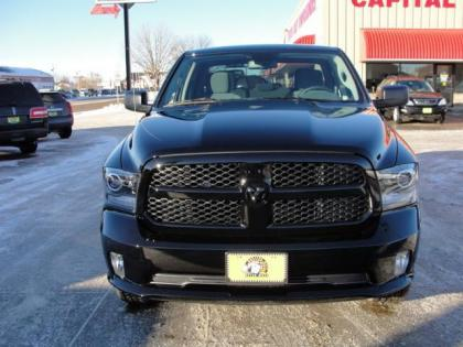 2014 RAM 1500 TRADESMAN - BLACK ON GRAY 1