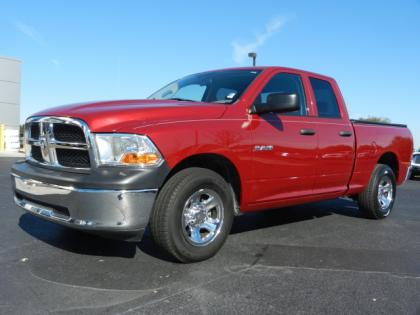 2010 DODGE RAM 1500 ST - RED ON GRAY