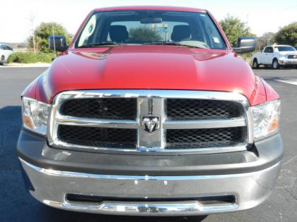2010 DODGE RAM 1500 ST - RED ON GRAY 2