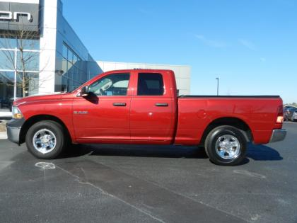 2010 DODGE RAM 1500 ST - RED ON GRAY 3